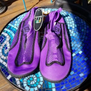 Shoes - Lucky Seven  Purple Water Shoes Size 8